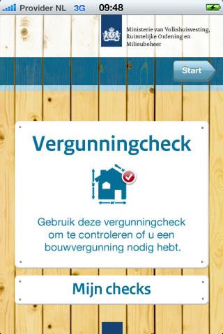 Vergunningcheck app